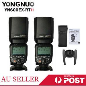 Yongnuo YN600EX-RT II Wireless Flash Speedlite TTL HSS Master for Canon I1K2