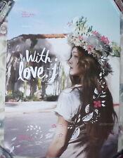 Jessica Vol.1 With Love J 2016 Korean Promo Poster (Girls' Generation SNSD)