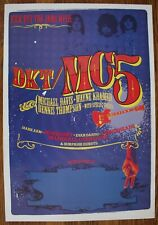 Mc5 Kick Out The Jams Promo Poster feat. Mudhoney Lemonheads Marshall Crenshaw