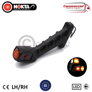 2 X LONG STALK TYPE END MARKER / OUTLINE POSITION LIGHT FOR TRUCK AND TRAILERS
