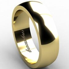 Wedding Yellow Gold 14Carat Fine Rings without Stones