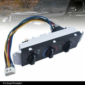 For Jeep Wrangler TJ HVAC AC A/C & Heater Control with Blower Motor Switch