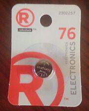 Radioshack 76 Watch Battery 1.55V Energizer EPX76 Brand New!!!