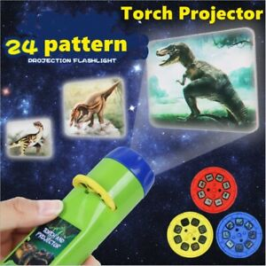 Toy For Boys 2-10 Year Old Kids Torch Projector Night Light Girls Xmas Gift HOT