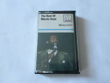 THE BEST OF MARVIN GAYE ~ RARE 1976 UK TAMLA MOTOWN CASSETTE TAPE ~ PAPER LABELS