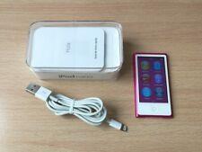 APPLE IPOD NANO 7th GENERATION A1446 16GB ROSA PINK BLUETOOTH BOX + MANUAL + USB