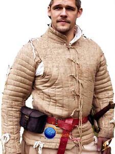 Medieval Thick padded Gambeson Aketon shirt under armor Costumes dress sca Larp