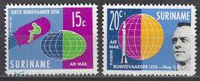 Surinam Nr. 406-407** Bemannte Weltraumfahrt