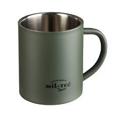Mil-Tec Tasse Insulated Becher Trinkbecher Camping Outdoor Geschirr Edelstahl