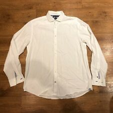 """Tommy Hilfiger White Shirt Long Sleeve Size 2XL 50"""" Chest"""