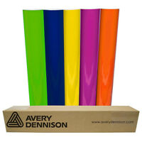 """Avery PC 500 Sign Vinyl 24"""" x 5yd for Decal Banners lettering Graphics Windows"""