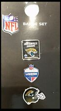 Jacksonville Jaguars Nfl International Series 2017 London Games 3 Pin Pack Set