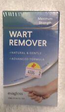 Evagloss Natural Wart Remover Liquid Gel new in box