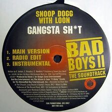 """SNOOP DOGG/LOON/PHARRELL/THE NEPTUNES GANGSTA SH*T/SHOW ME YOUR SOUL 12"""" EX COND"""