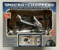 EXCALIBUR MICRO CHOPPER WIRELESS INDOOR HELICOPTER REMOTE CONTROL RC NEW NOS