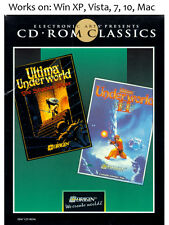 Ultima Underworld 1 + 2 Stygian Abyss + Labyrinth of Worlds PC Mac Game