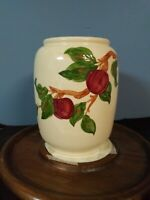 Apple American Backstamp By Franciscan Cookie Jar With No Lid