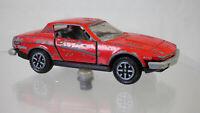 Original Dinky Toys No. 211 Triumph TR 7 Sports Car Red Diecast Vintage Toy Car