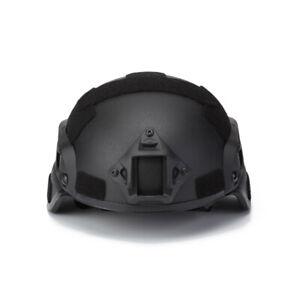 UHMW-PE Bullet Proof MICH 2000B Level IIIA  Ballistic Helmet BK L