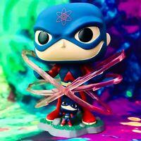 The Atom 2021 Wondrous Con Exclusive DC Justice League Funko POP! *Damaged Box*