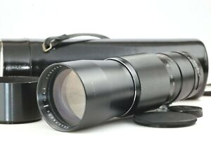 【Super RARA! EXC+++】 Auto Marexer Telephoto 300mm f/4.5 M42 mount Lens by Maruwa