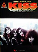 KISS GUITAR TAB / TABLATURE / ***BRAND NEW*** / BEST OF KISS / KISS SONGBOOK