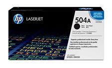 Hp - cartucho de Tóner original LaserJet 504a negro