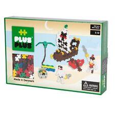 PLUS PLUS 360 Piece PIRATES Instructed Set, Puzzle Piece-Shaped Building Toy