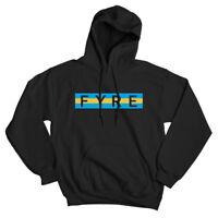 FYRE BAHAMAS FESTIVAL - Party music fest Black Sweatshirt HOODIE