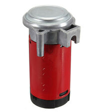 Red Universal 12V 0.08~0.12MPA Air Compressor for Air Horn Car/ Truck / Vehicle