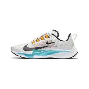 NEW Nike Air Zoom Pegasus 37 PRM Women Sz 11.5 Shoes White/Aqua CQ9977 100 RARE