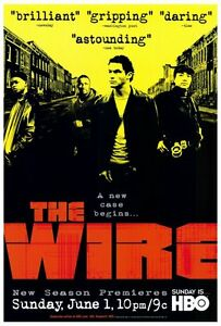 """THE WIRE Poster [Licensed-NEW-USA] 27x40"""" Theater Size HBO"""