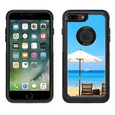 Apple iPhone 7 Plus Beach Umbrella View Otterbox Defender Case