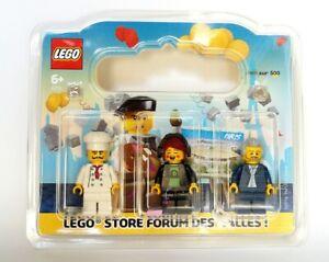 LEGO Forum des Halles Minifigures collector Neuf