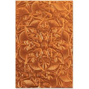 Sizzix 3D Textured Impressions By Kath Breen - Floral Mandala