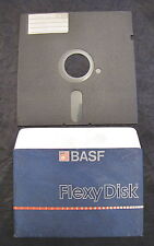 Floppy disc 5.25 inch 5 1/4 Commodore 64 es 04 Computer BASF Flexy Disk A 87 50