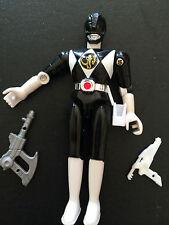 POWER RANGERS Mighty Morphin BLACK RANGER Loose Action figure con accessori