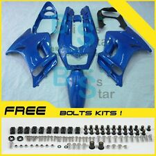Gloss Black Fairing Bodywork Plastic Fit Kawasaki ZZR250 2008 2007-2009 03 C3