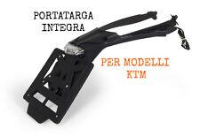 RACETECH PORTATARGA CLICK CLACK INTEGRA STOP POSTERIORE PLATE KTM 125 EXC 2017