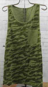 New Tavik Mens Bellmore Tank Sleeveless Pocket Shirt Medium Sage