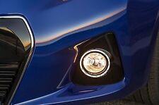 FRONT BUMPER FOG LIGHT SURROUND CHROME TRIM FITS 2014 - 2016 TOYOTA COROLLA S