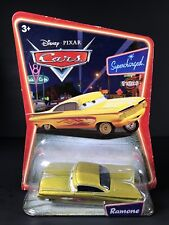 Disney Cars Supercharged Ramone Yellow Diecast Car New Sealed
