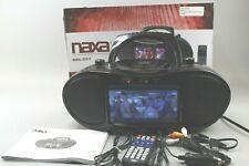 "Naxa NDL-257 7"" TFT LCD Display DVD Player TV Tuner Radio Black Bluetooth NICE!!"
