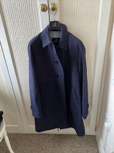 Men's Hackett Ventile Weatherproof Trench Coat Mac New Made In London