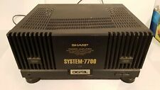 Sharp System 7700 Endstufe Amplificateur Amplifire Poweramp Stereo
