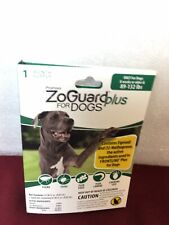 ZoGuard Plus Flea Tick Chewing Lice Treatment for Dogs, 89-132 lbs
