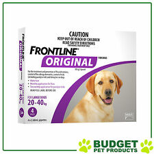 Frontline Original For Large Dog 20-40kg 4 Pack