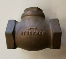 """STOCKHAM CHECK VALVE 82666 B-319 FITTING 3//8/"""" TEE WATER GAS FLUIDS  MILITARY NEW"""