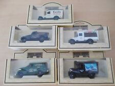 5 Lledo Pick Up & Vans all different - 21027,26007, 36002, 30002, 21018 - Boxed
