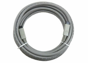 Molex 15ft Gray IEEE 1394 Cables 9-Pin to 9-Pin Cable 68808-0012